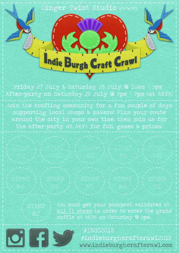 The Craft Passport - available at all participating shops!