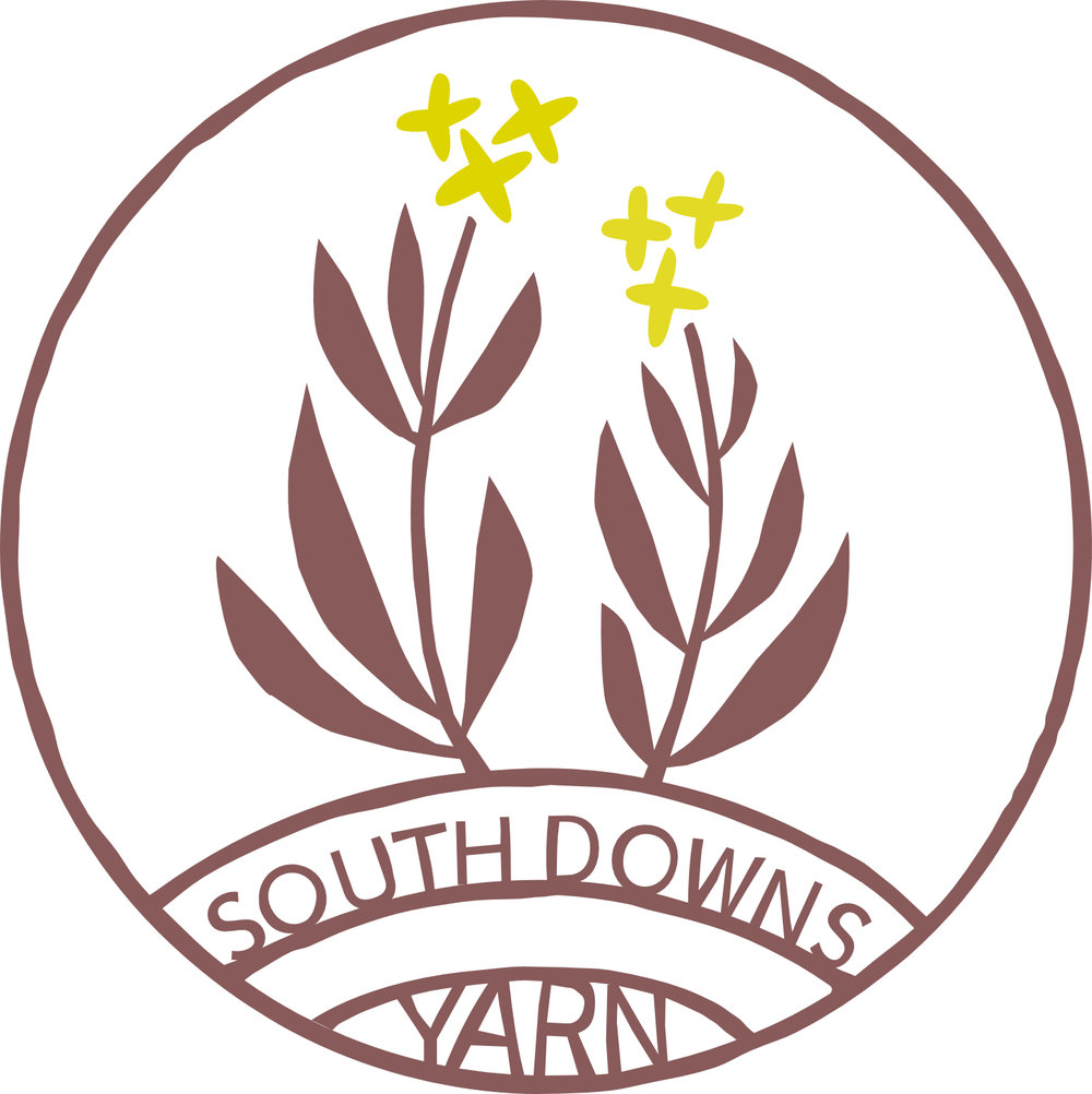 South Downs Yarn   South Downs Yarn celebrates the breed, the Southdown, the place, the South Downs, and the people associated with both. We work with local shepherds to produce limited edition, single flock, woollen spun, 100% Southdown wool from the South Downs. Grown, shorn, and plant dyed in Sussex. Spun in England.