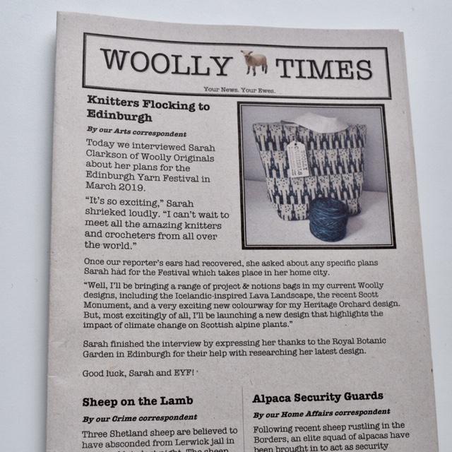 WOOLLY ORIGINALS  Woolly Originals. Woolly Project & Notions Bags. Based in Edinburgh.