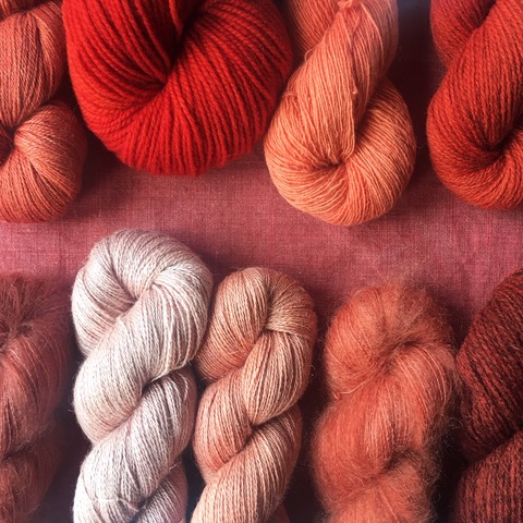 woollenflower  Plant dyes + natural fibres = @woollenflower joy! Jules will bring naturally-dyed fine-gauge yarns from lush blends of alpaca, kid mohair & linen to the woolliest Shetland and French sheep breeds... (plus, of course, those tweed pouches!)
