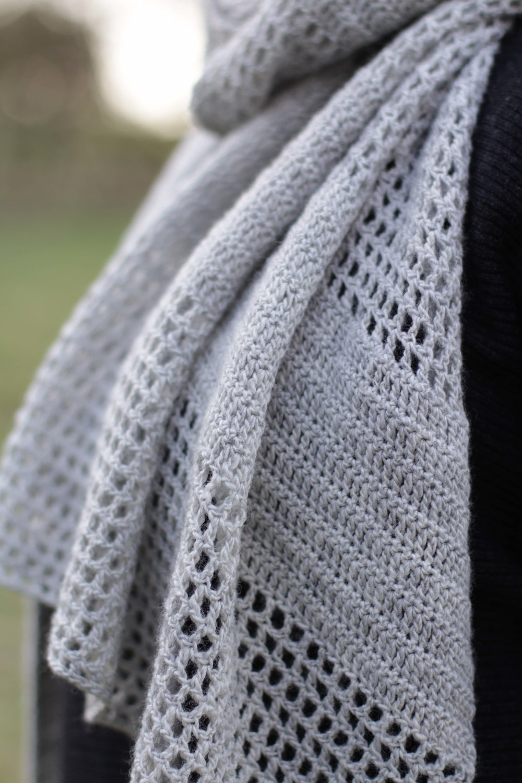 Find the Grassmarket Shawl pattern in our free  wool::press  festival newspaper!