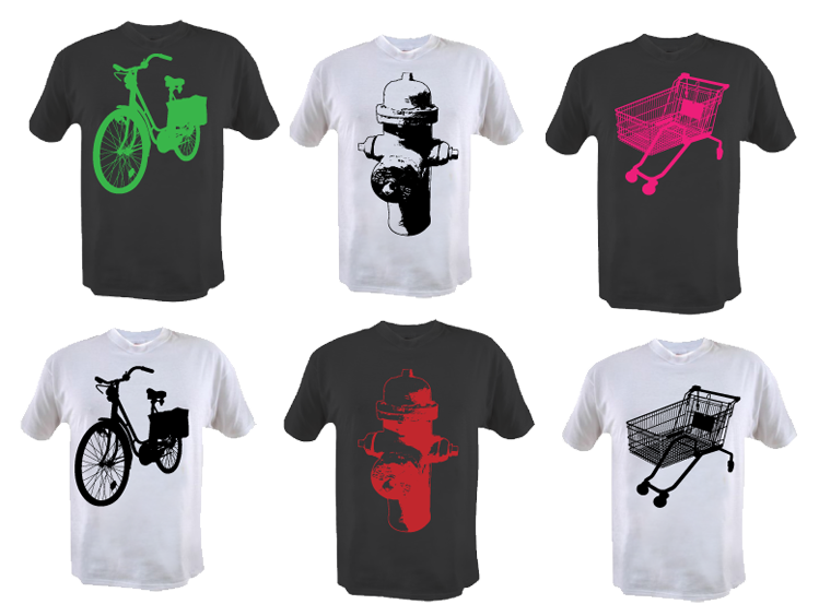 Urban t-shirt designs