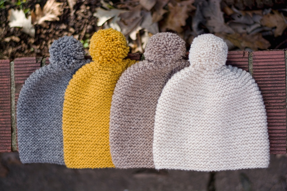 Free Knitting Pattern Garter Stitch Hat : Garter Stitch Hat   Little Grey Heart