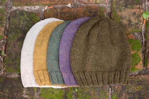 Classic Knit Hat Little Grey Heart