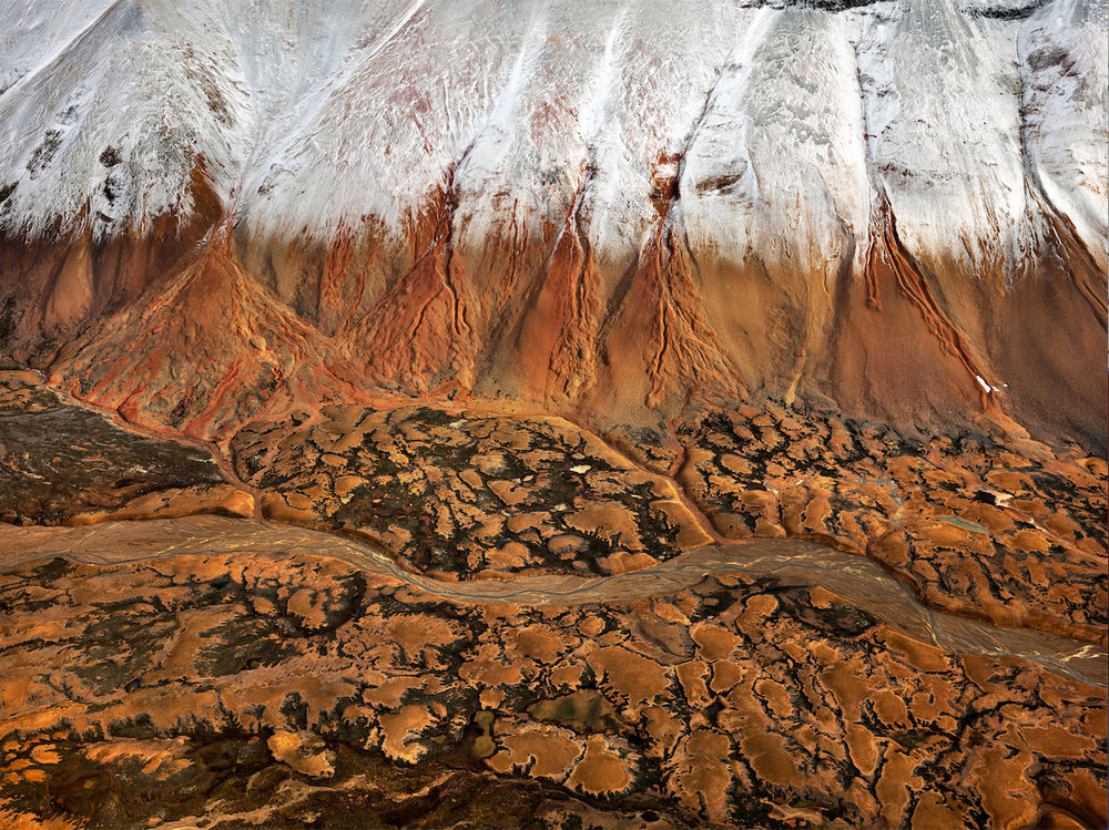 Edward Burtynsky, Mount Edziza Provincial Park #2 Northern British Columbia, Canada, 2012.