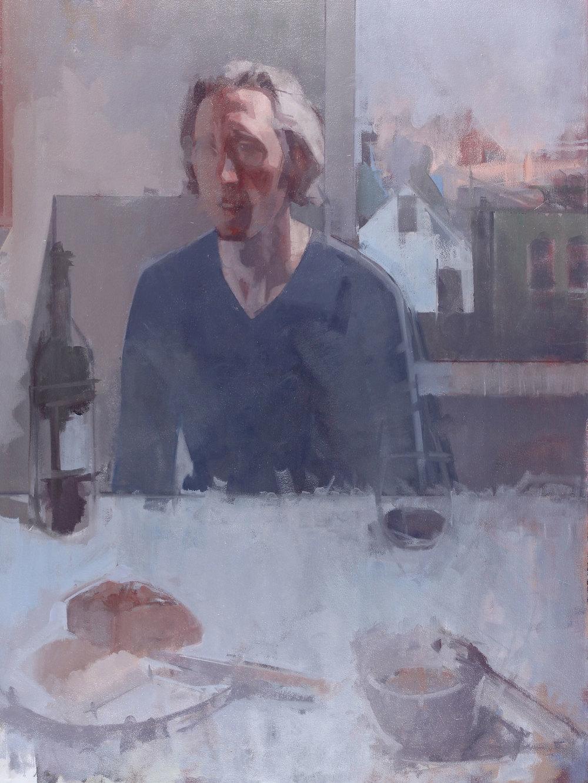 Daniel Hughes,Studio portrait #1, 2014.