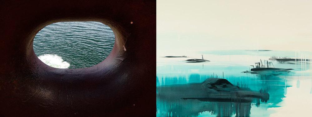 Wanda Koop,SEEWAY – Lookout, 2014.