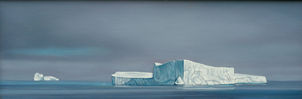 David Marshak, Davids Strait Ice, 2012.
