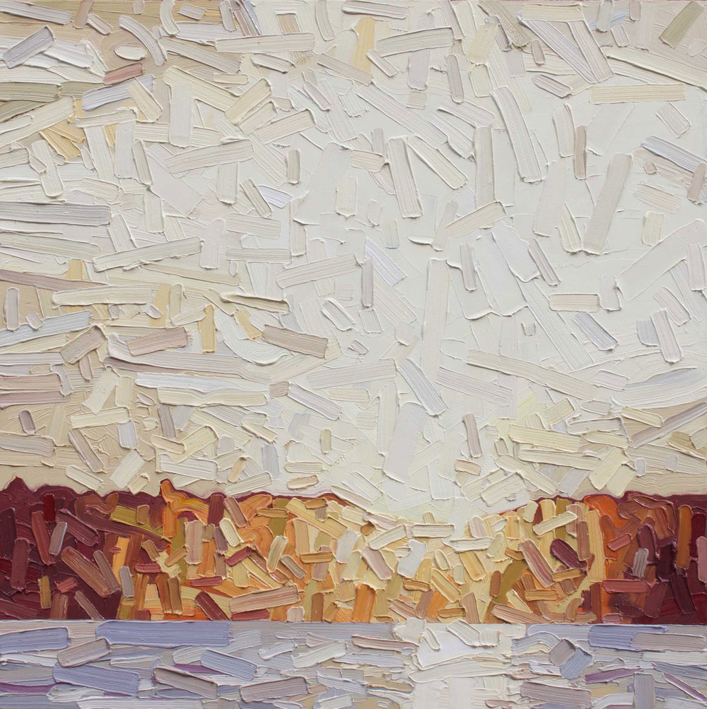 David Grieve, Golden Shore, 2015, $2,000