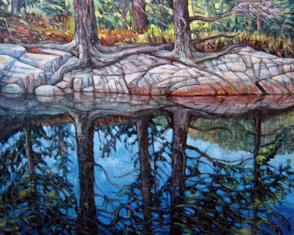 Paul Mantrop, Calm reflection, Killarney, 2016, $2,850