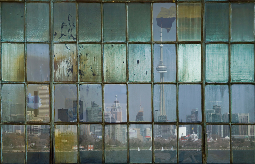 Michael Toole, Toronto Skyline, 2014, $2,400
