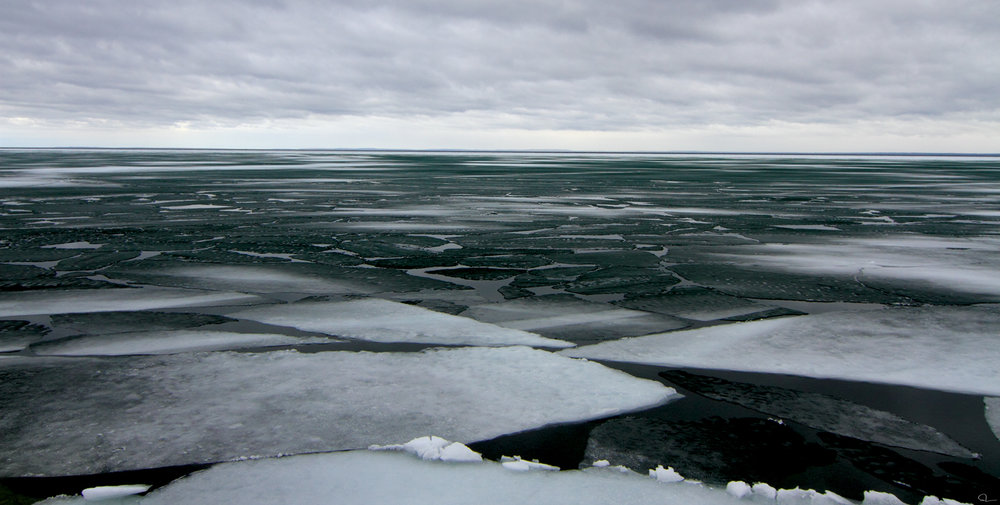 Michael Toole, Ice Floes, 2012.