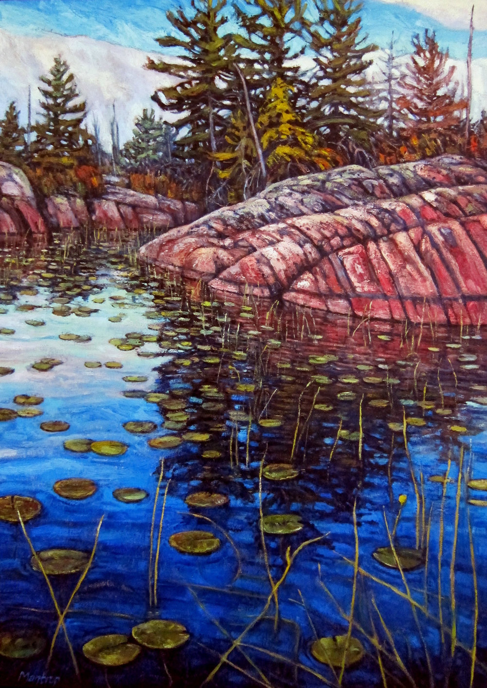 Paul Mantrop,Shield and Shoreline, 2017.