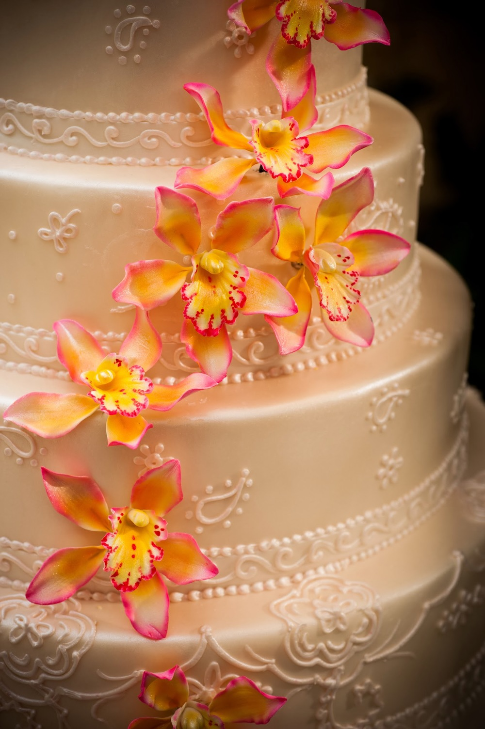 Sugar Flowers Detail | Edible Art Bakery of Raleigh
