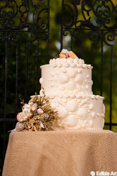 Beach Cake | Edible Art Bakery of Raleigh
