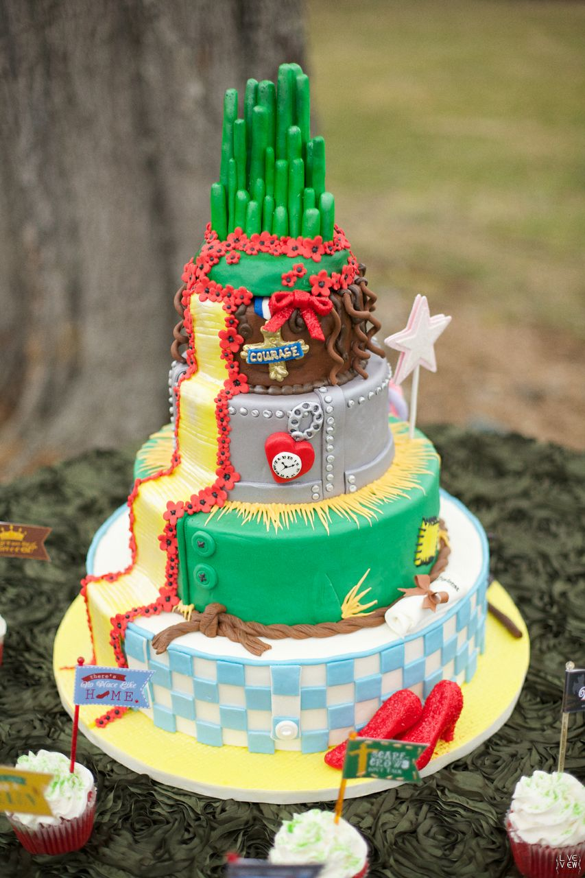 Wizard of Oz Cake | Edible Art Bakery of Raleigh