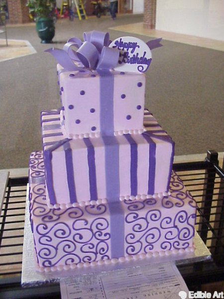 Gift box cake photos edible art bakery desert cafe gift box cakes negle