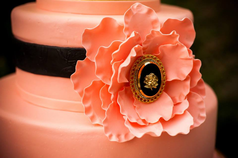 Gum Paste Flower Detail  | Edible Art Bakery of Raleigh