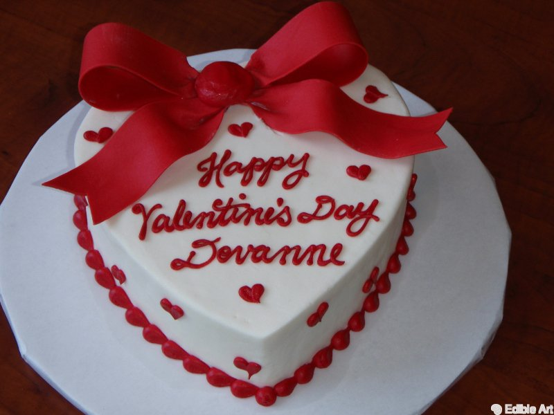 Valentine Cake Photos