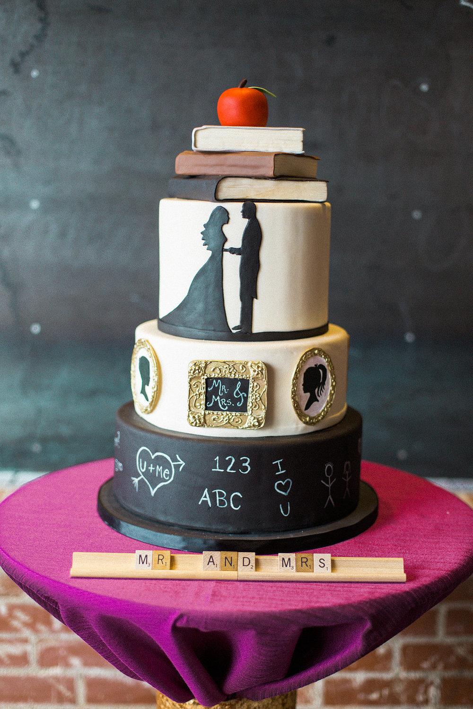 Education Cake | Edible Art Bakery of Raleigh