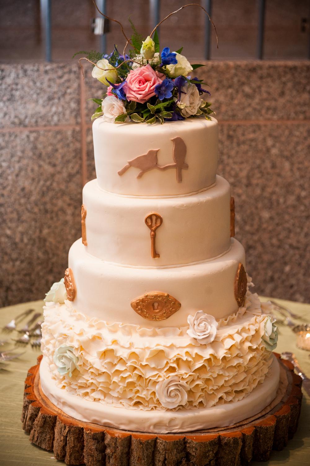 Ruffles Cake | Edible Art Bakery of Raleigh