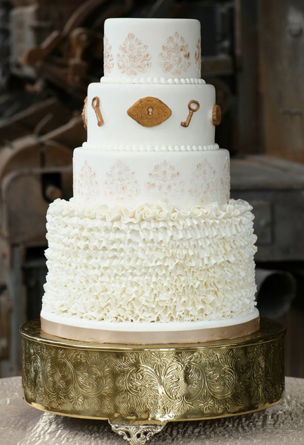 As Seen in Southern Bride and Groom  | Edible Art Bakery of Raleigh