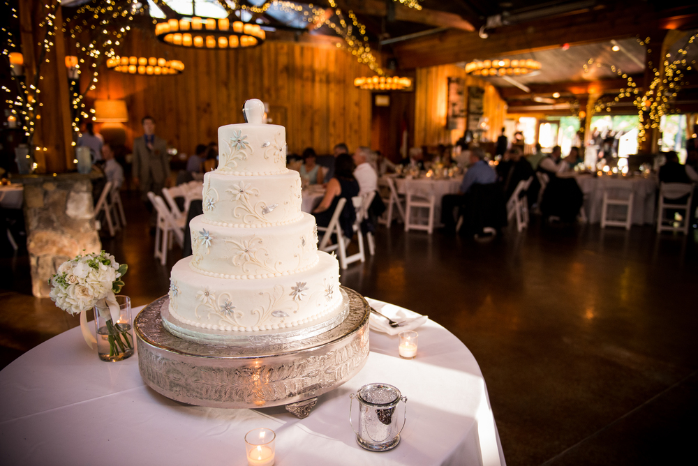 Reception Cake | Edible Art Bakery of Raleigh