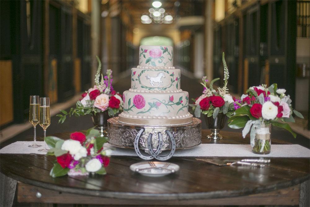 Painted Cake | Edible Art Bakery of Raleigh