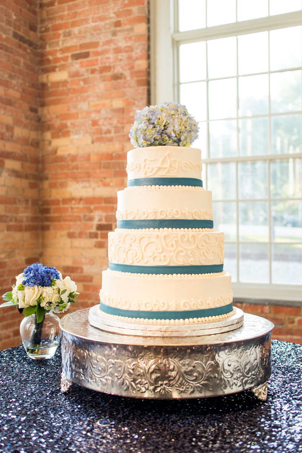 Cake with Ribbon | Edible Art Bakery of Raleigh
