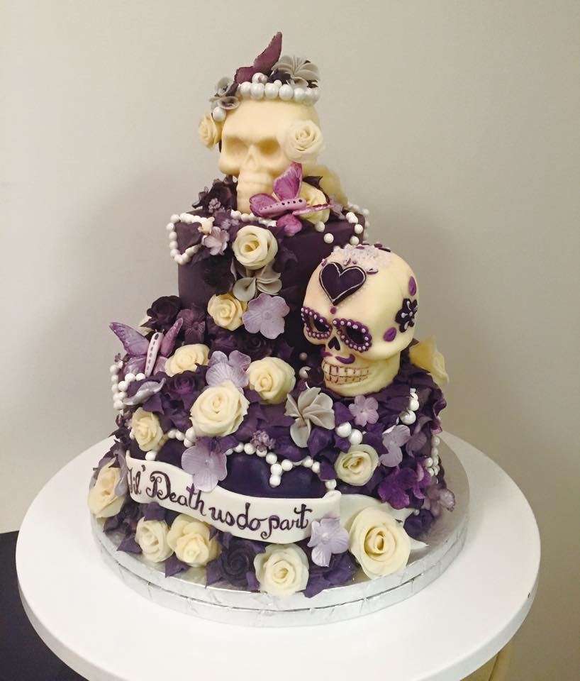 Til Death Do You Part Cake | Edible Art Bakery of Raleigh