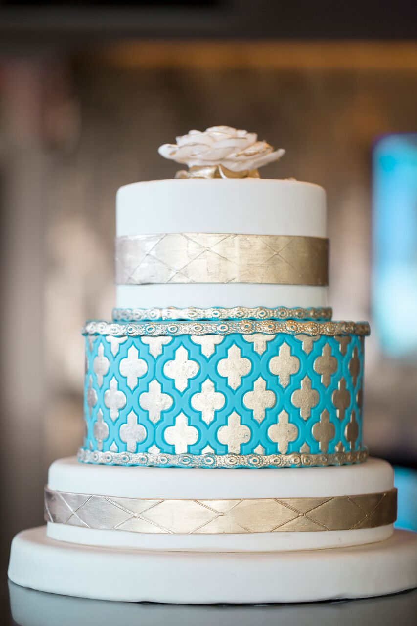 As seen in Weddings Magazine  | Edible Art Bakery of Raleigh