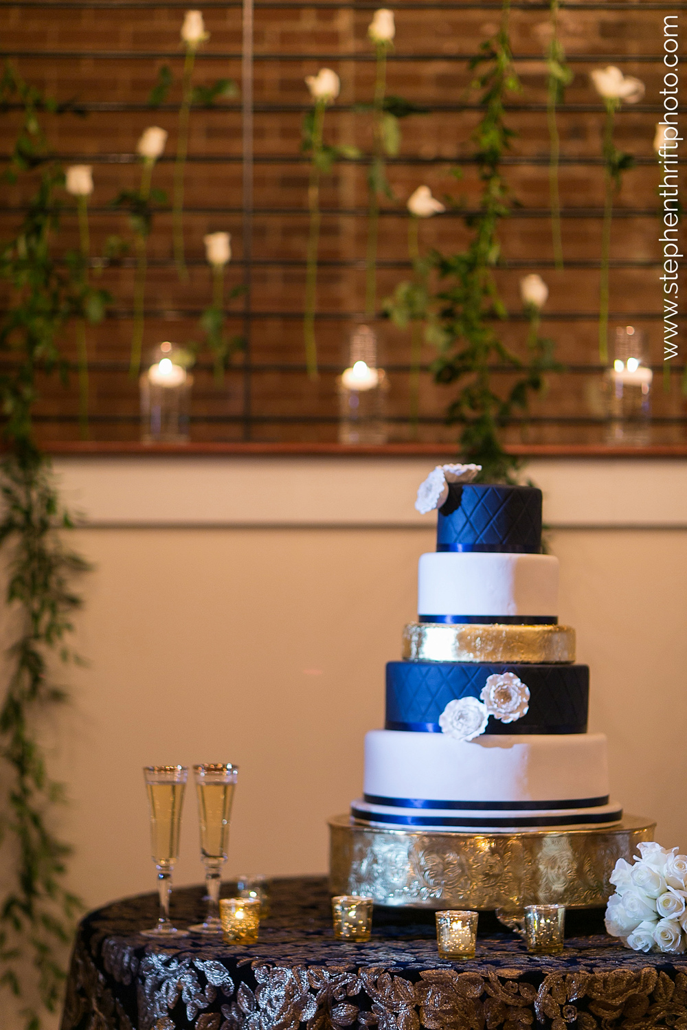 Blue and White | Edible Art Bakery of Raleigh