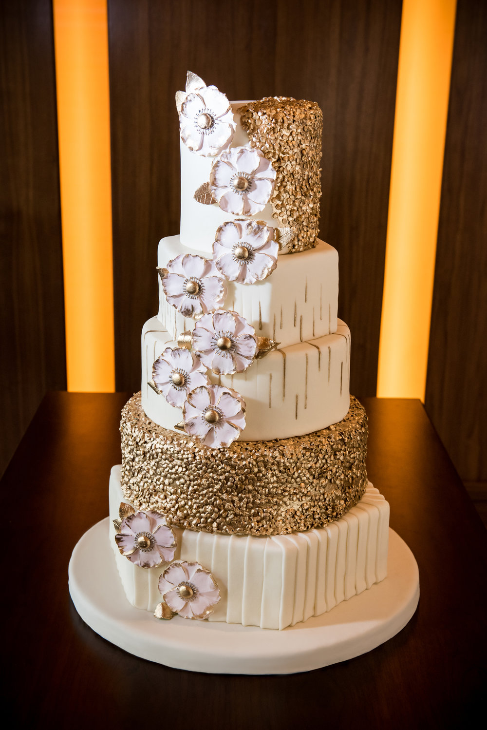 As seen in Southern Bride & Groom | Edible Art Bakery of Raleigh