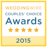 Edible Art received the Wedding Wire Couple's Choice Award 2015