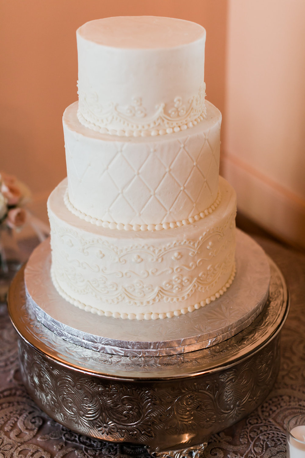 Wedding Cake | Edible Art Bakery of Raleigh
