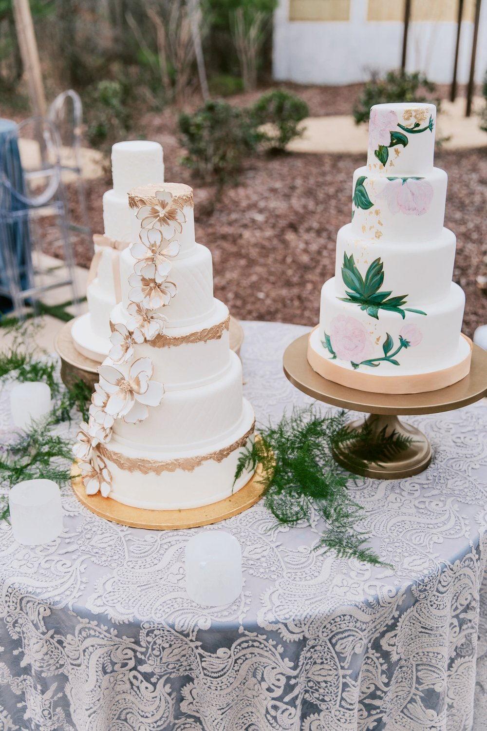 Wedding cake display | Edible Art Bakery of Raleigh