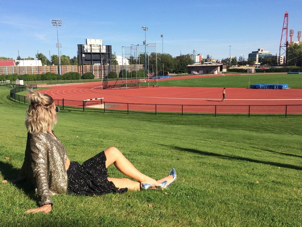 Credits: Photo - Anonymous, Styling - Sarah G.Schmidt, Location - Foothills Athletic Park