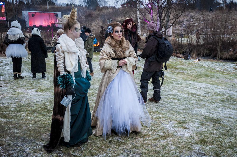 Midvinterglöd 2014 - Makeuptävling Vinterväsen
