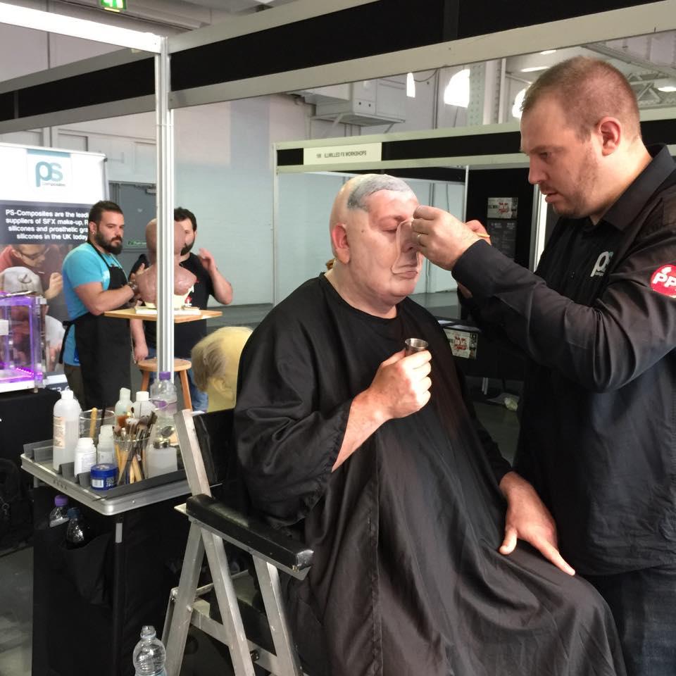 Maskarbeten och föråldringar var ett givet inslag på IMATS London 2015!