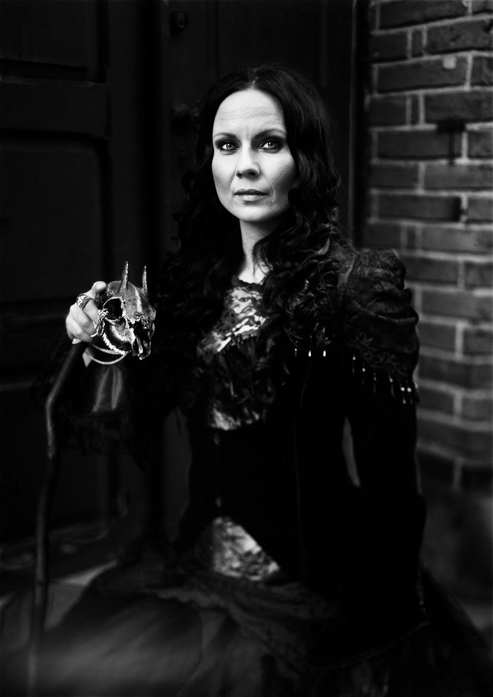 Makeup Artist & Skelettkonstnär Petra Shara Stoor