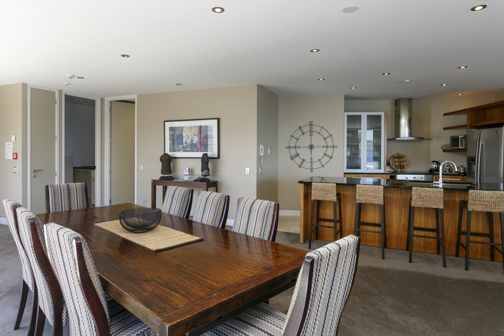 First floor three bedroom apartment dining area and kitchen.jpg