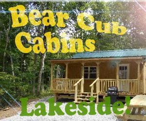 Bear Cub Cabins (765) 344   1436