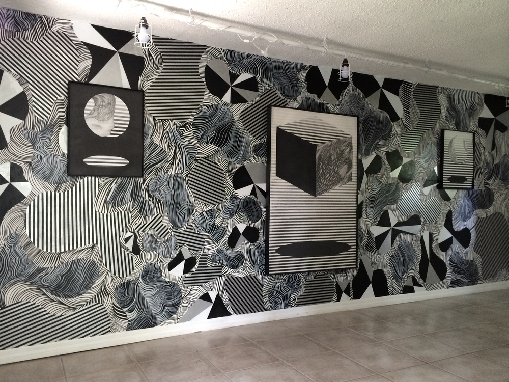 "Installation view of ""Portal"" at Epoxy 1"