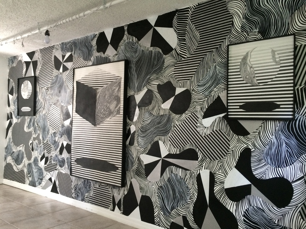 "Installation view of ""Portal"" at Epoxy 2"