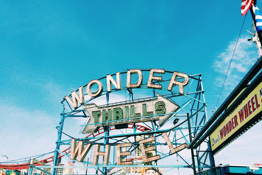 We took our first(!) trip to Coney Island, where we rode the famous Wonder Wheel.
