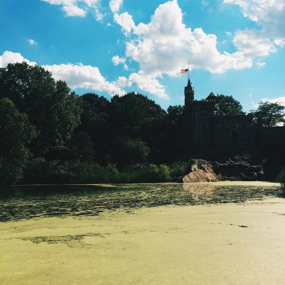 Turtle Pond in Central Park is always a treat.