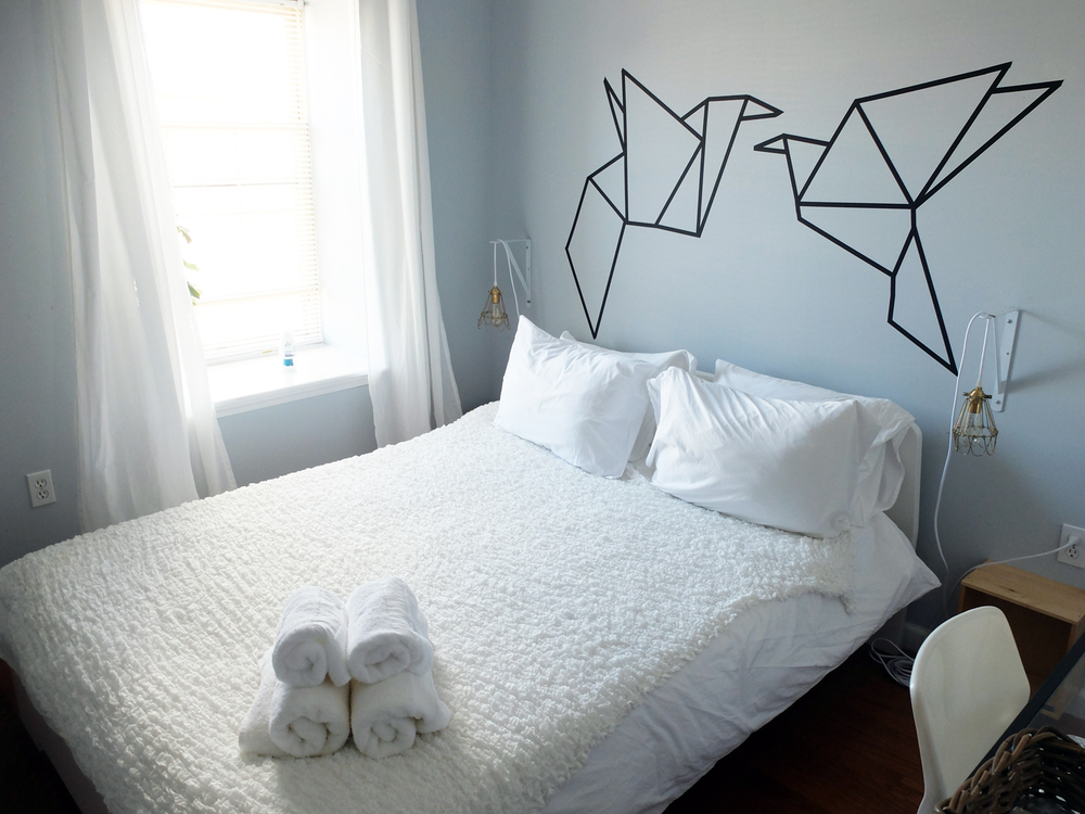 philadelphia bedroom airbnb