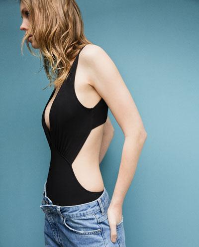 zara swimsuit one piece