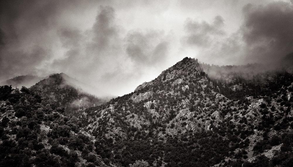 Cloudy Peaks 1