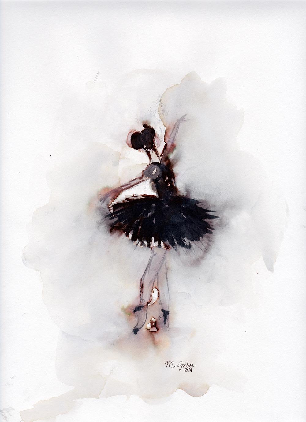 Ink Ballerina